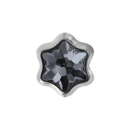 SWAROVSKI BeCharmed Star Bead silver night