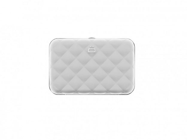 QUILTED LADY CASE silver