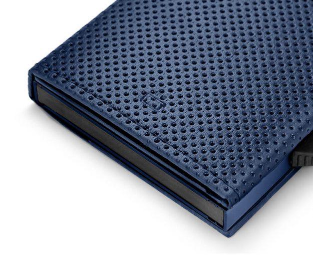 CASCADE SLIM PÉNZTÁRCA blue vegan leather