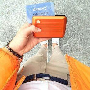 STOCKHOLM SMART CASE V2 orange aluminium