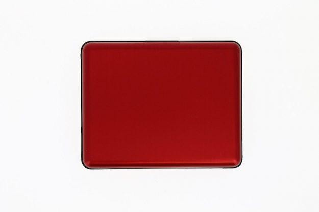 STOCKHOLM  SMART CASE LARGE red aluminium