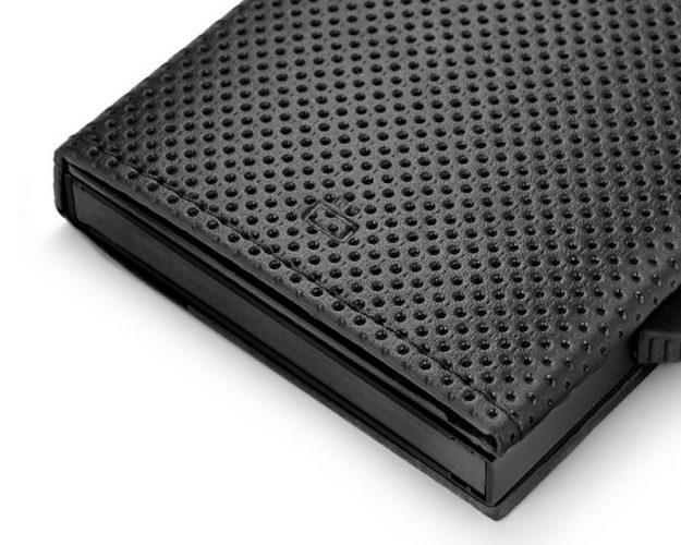 CASCADE SLIM PÉNZTÁRCA black vegan leather