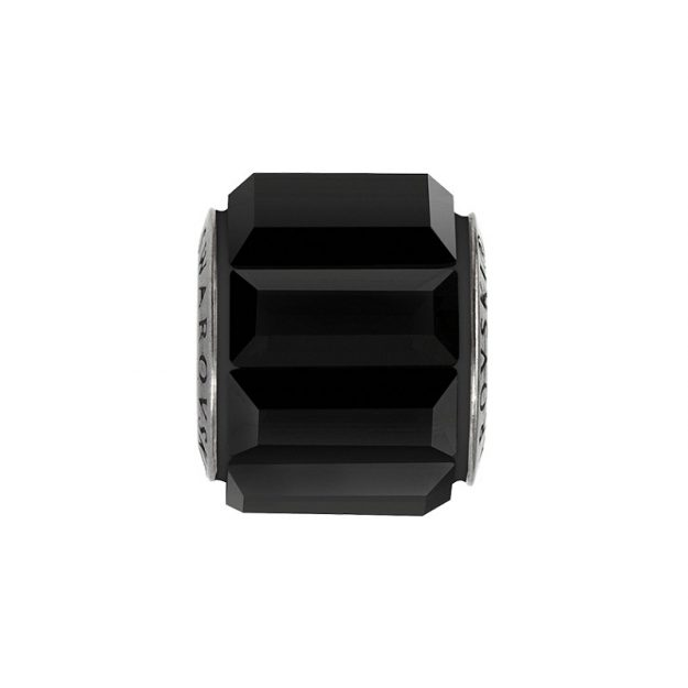 SWAROVSKI BeCharmed Pavé Bead jet black