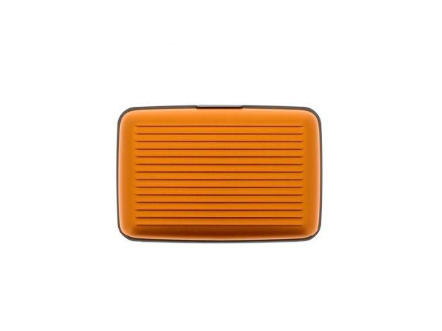 STOCKHOLM KÁRTYATARTÓ orange aluminium